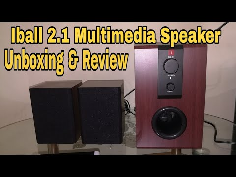 iBall 2.1 Raaga Q9 Multimedia Speaker - Unboxing & Sound test Review