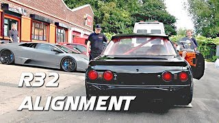 Aligning the 1JZ Driftworks R32!