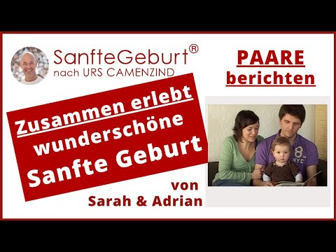Sanfte Geburtserfahrung von Sarah & Adrian mit Noelle