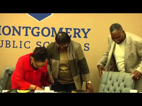 Swearing In Ceremony for District 7 School Board Member Roberta Collins