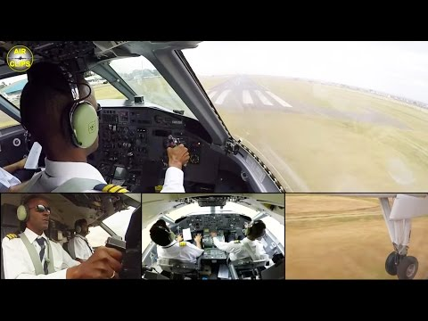 ALS Dash 8 ULTIMATE COCKPIT MOVIE 2/2: Refugee flight Kakuma