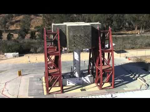 Bridge Column Shake Test at UC San Diego Englekirk Structural Engineering Center