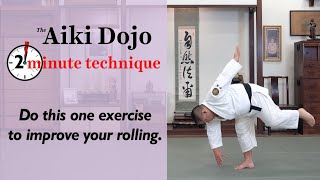 The 1 Leg Reach - The Aiki Dojo 2 Minute Technique #aikido #ukemi #zenpokaiten #aikidocenterla