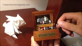 Everything's Alright - Wooden Music Box
