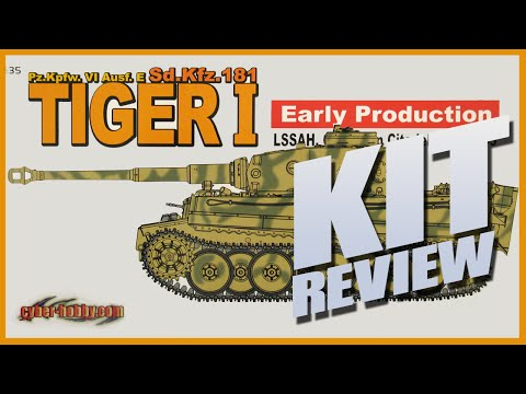 Kit Review: Cyber-Hobby 9142 Tiger I Early Production LSSAH in 1/35