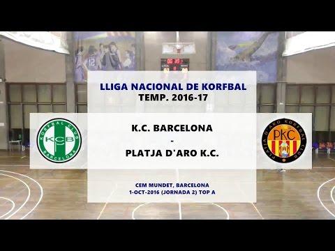 KCB - PKC (J2 TOP A) Lliga Nacional de Korfbal 2016-17