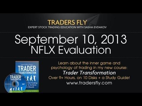 Netflix - NFLX Evaluation Day Trading Stocks - Sept 10, 2013