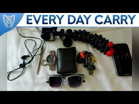 My EDC || Every Day Carry || Extremely Generic?! [Sep 2016]