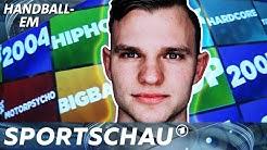Der Kabinen-DJ: Timo Kastening über Tanzen und Team-Abende | Handball-EM | Sportschau