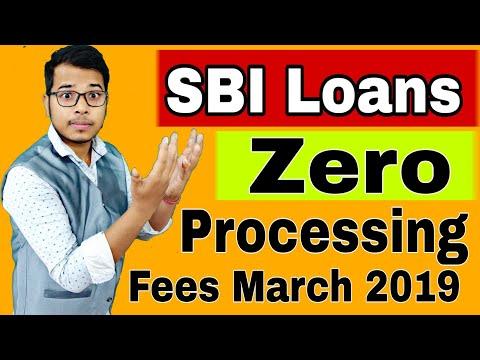 SBI दे रहा है Loan Zero Processing Fees पर   Bank Loan With Zero Processing Fees