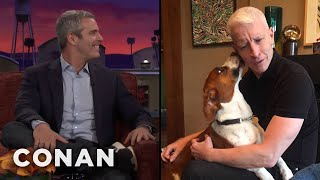 Andy Cohen's Promiscuous Dog  - CONAN on TBS