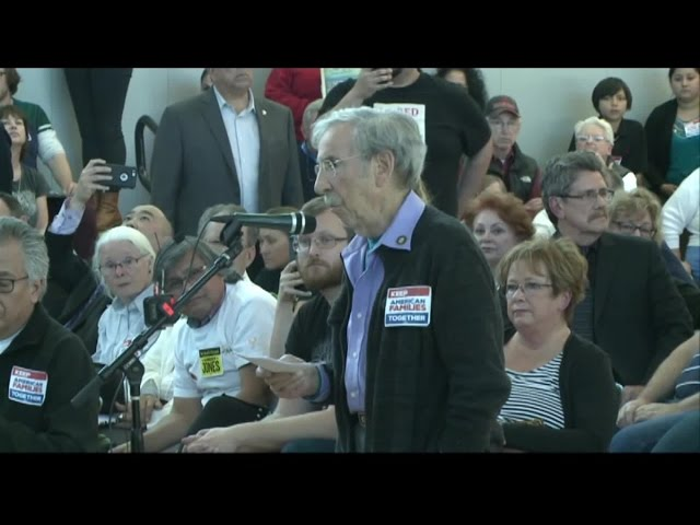 Holocaust Survivor Has Strong Words For ICE Director, Sheriff At Immigration Forum