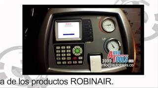 """Cómo funciona la máquina de """"Aire acondicionado automotriz"""" """"Cooltech AC 788"""" """"Robinair"""""""