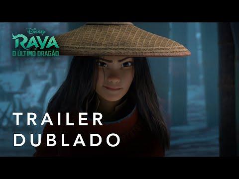 Raya E O Último Dragão | Trailer Oficial Dublado