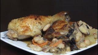 Отменный рецепт-Курица с Овощами в Духовке/Курица запеченная в духовке с овощами рецепт