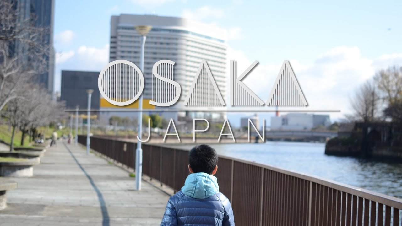 winter in osaka japan travel vlog youtube
