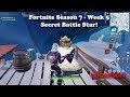 Fortnite - Season 7 - Week 5 Secret Battle Star Location!