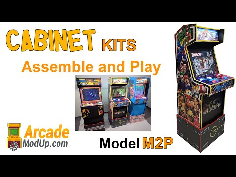 Model M2P Cabinet Assembly and Game Play
