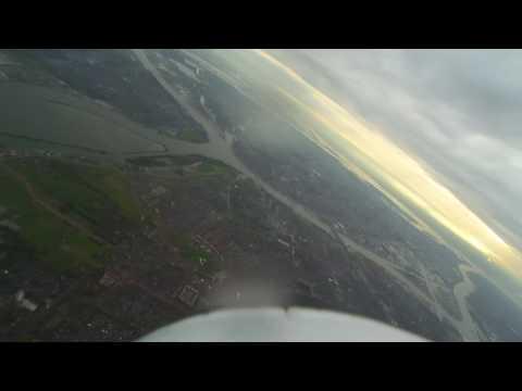X-6 SkyWalker nice FPV flight,pilot Martin.