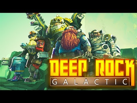 BEARDS, MONSTERS, AND MONEY | Deep Rock Galactic Part 1