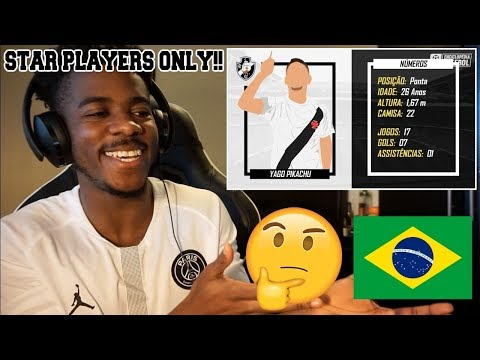 THE BEST PLAYER OF EVERY TEAM IN THE 1ST HALF OF THE BRAZILIAN LEAGUE 2018  Reaction