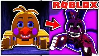 Déverrouillage des badges secrets dans Fredbears Custom Night RP! - FnAF Roblox Gameplay