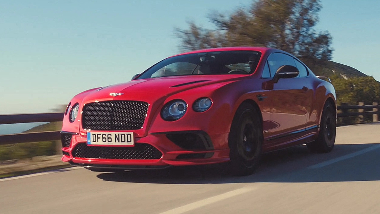 Essai Bentley Continental Supersports 2017 Youtube