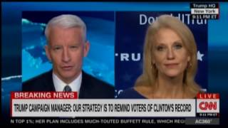 Anderson Cooper Presses Trump Campaign Manager On Legal Settlements