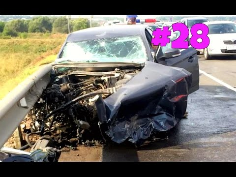 Amazing CAR CRASH COMPILATION - Crazy Traffic Accident - Best Dash Cam Crash Collision Part.28