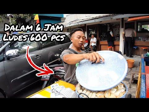 WOW SIOMAY ENAK INI DALAM 6 JAM LUDES 600 PCS !! INDONESIAN STREET FOOD