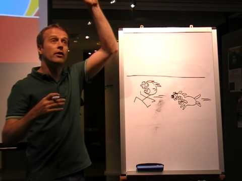 Cartoonist Iskander National Library Board talk