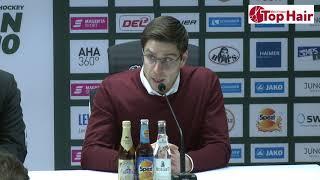1878 TV | Pressekonferenz 22.12.2019 Augsburg - Krefeld 3:0