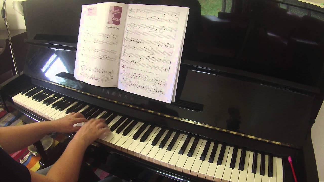 Sugarfoot Rag   Accelerated Piano Adventures for the Older Beginner lesson  book 1