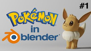 How to Import and Render 3D Pokémon Models in Blender [2.8 and Beyond] screenshot 4