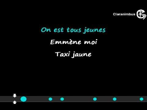 "Canción ""Fifty-sixty"" sin voz de Alizée (karaoke, lyrics, sous-titres)"