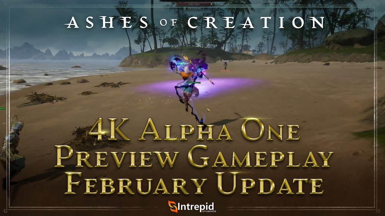 Ashes of Creation Shows New Video of Alpha One Pretest