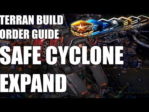 Terran Build Order Guide - Terran vs Terran Safe Cyclone Expand