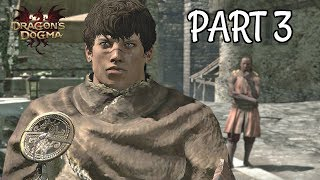 Dragon's Dogma Dark Arisen Walkthrough Part 3 - Hydra Head Escort | PS4 Pro Gameplay