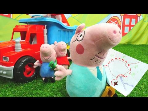 Мягкие игрушки! Новая серия СВИНКА ПЕППА 🐷!  #PeppaPig, папа Свин и другие ИДУТ В ПОХОД!