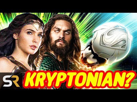 DC Movie Theory: Are Wonder Woman And Aquaman Kryptonian?