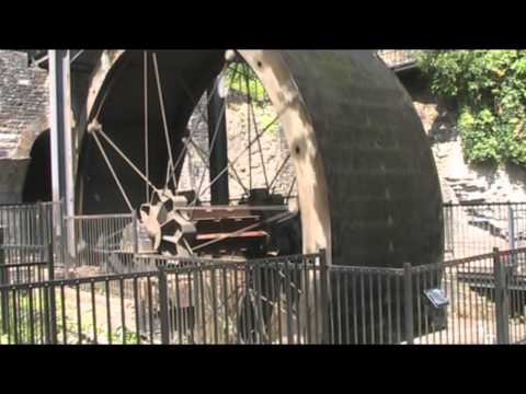 Waterwheel Generator Aberdulais Falls South Wales UK