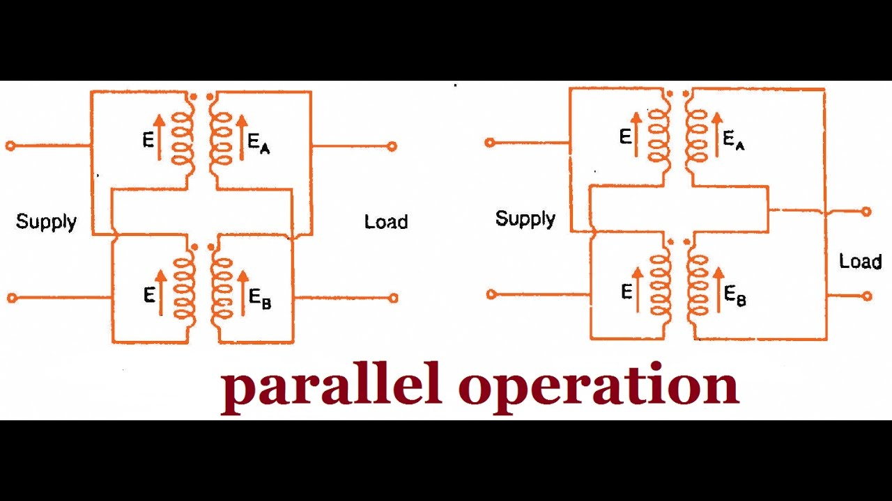 how to connect two transformers in parallel