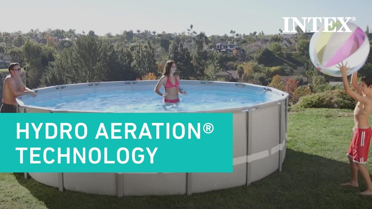 Intex Hydro Aeration Technology  YouTube