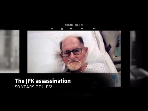 JFK murder confession by CIA agent - never before seen!