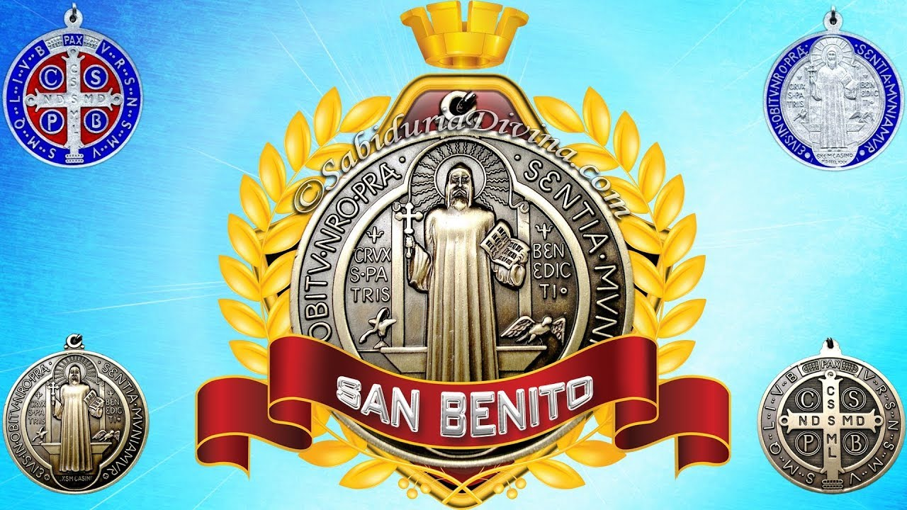 Medalla De San Benito Oracion Youtube