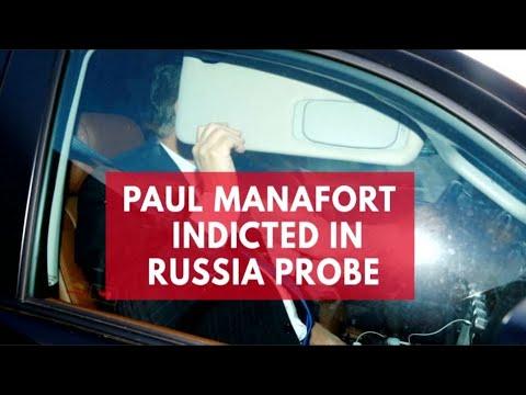 Paul Manafort indicted in Robert Mueller's Trump-Russia probe