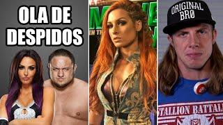 Despedidos Peyton Royce y Samoa Joe Regreso de Becky Lynch Planes originales de WrestleMania 37