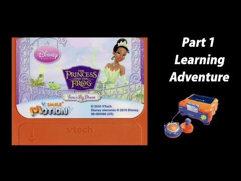 The Princess and the Frog: Tiana's Big Dream (V.Smile V.Motion) (Playthrough) Part 1 - Learning Adv.  