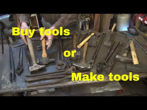 Should you buy your tools or make your tools?