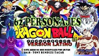 Mod de Dragon Ball Tap Battle con 62 personajes audio latino